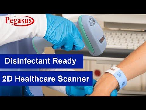 Pegasus PS3216H Healthcare Barcode Scanner