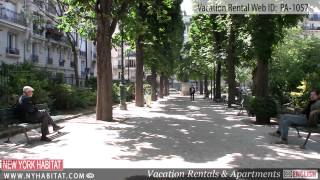 Clichy France  city images : Paris, France - Video tour of a vacation rental in Porte De Clichy (17th district)