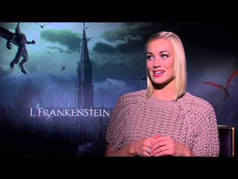 "I, Frankenstein: Yvonne Strahovski ""Terra"" Official Movie Interview"