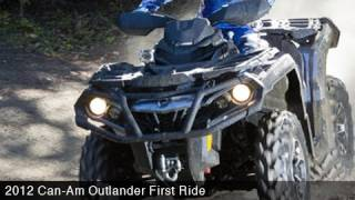 5. MotoUSA First Ride:  2012 Can-Am Outlander 1000 XT