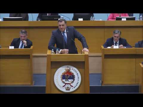 RASPRAVA: Dodik - Stanivuković: Mi narodni poslanici nismo kutije RONHILA (BN Televizija 2019)