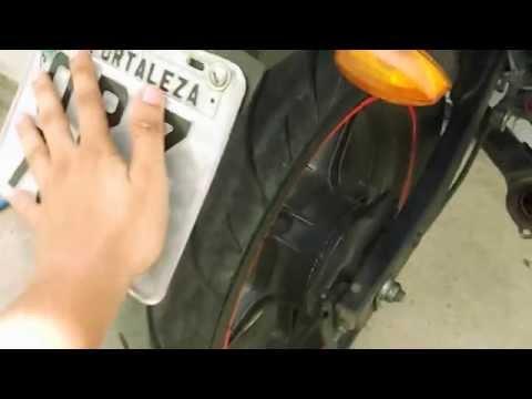 JONNY RACER 150 cc # SÓ O CANO E COM RODAS DA CB300