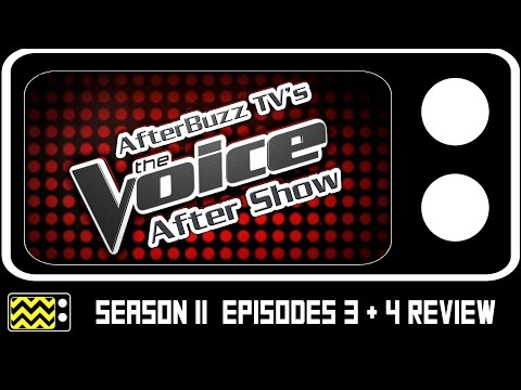 The Voice Season 11 Episodes 3 & 4 Review & After Show | AfterBuzz TV