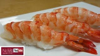 How To Prepare Raw Shrimp for Nigiri Sushi - How To Make Sushi Series by Diaries of a Master Sushi Chef
