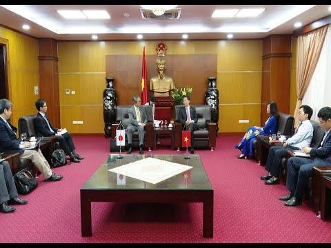 Tăng cường quan hệ thương mại, công nghiệp và năng lượng Việt Nam - Nhật Bản