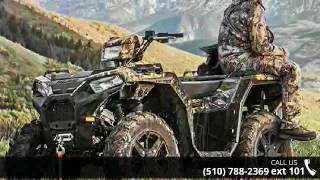 6. 2017 Polaris Sportsman 850 SP Pursuit Camo Sport / Utilit...