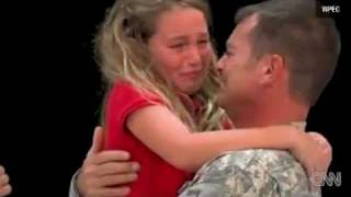 Military Dad Surprises Daughter at Spelling Bee After She Spells Sergeant