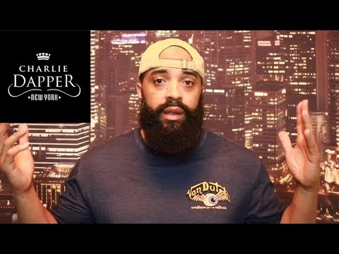 Charlie Dapper NY beard balm and beard oil product review