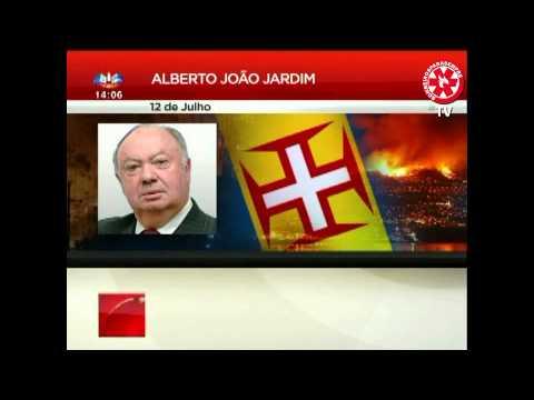 Alberto João Jardim diz que Madeira tem Bombeiros a Mais