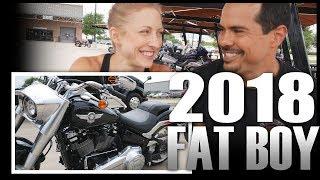 8. 2018 Fat Boy - Demo at Maverick Harley Davidson