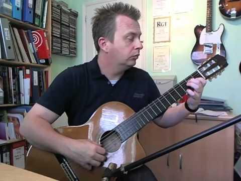 Menuet  - Trinity Guitar Grade 3