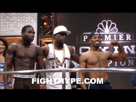 Adrien Broner, selling the fight or being disrespectful