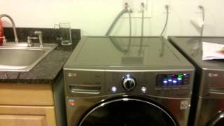LG Front Load Washer Water Hammer Banging Noise