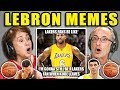 ELDERS REACT TO LEBRON JAMES MEMES COMPILATION