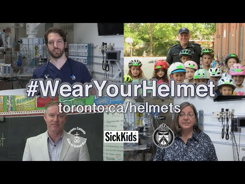 Always #WearYourHelmet | @TorontoPolice Kids Bike Helmet Safety PSA | Autumn 2019 | [0:30]