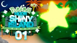 A SHINY START!! Pokémon Sun and Moon Shiny Island Quest Let's Play with aDrive! Episode 1 by aDrive
