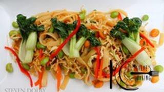 Thai Tamari Rice Noodle Salad (gluten-free) Recipe