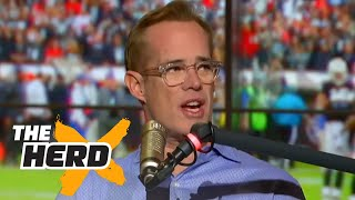 Joe Bucks relives his call of Randy Moss mooning the fans in Green Bay | THE HERD by Colin Cowherd