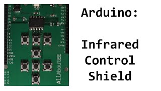An Arduino infrared shield which you can use to send and receiver/decode infrared signals.Where to buy:Tindie:https://www.tindie.com/products/AllAboutEE/infrared-remote-control-shield-for-arduino/?utm_source=youtube&utm_medium=video&utm_campaign=IR%20ShieldSoftware Library:https://github.com/AllAboutEE/Infrared-Shield-Library-for-ArduinoXboxOne IR Codes:http://www.remotecentral.com/cgi-bin/mboard/rc-discrete/thread.cgi?7171NEC IR Protocol:http://techdocs.altium.com/display/FPGA/NEC+Infrared+Transmission+Protocol