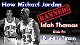 Video How and why Michael Jordan BANNED Isiah Thomas from the Dream Team! MP3, 3GP, MP4, WEBM, AVI, FLV Mei 2019