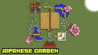 Minecraft Tutorial: How To Make A Japanese Garden