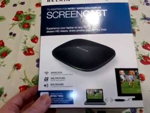 Belkin Screencast. Tv-PC