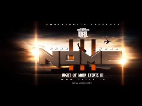 URL Battle Rap Arena has The OFFICIAL NOME 3 Card and May 18th Recap