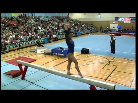 Marissa King- British Team Championships- Balance Beam