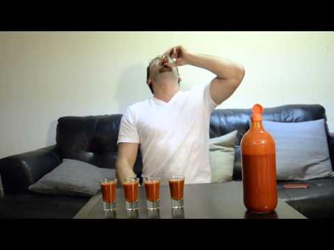 Kristoff se toma unos shots de salsa  - Thumbnail