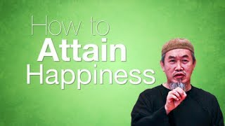 How to Attain Happiness - Sheikh Hussain Yee - Kinetic Typography