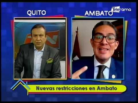 Nuevas restricciones en Ambato