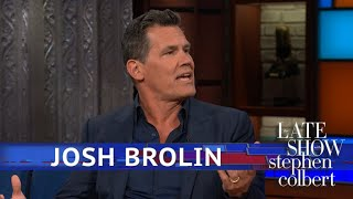 Josh Brolin Reads Trump Tweets As Thanos