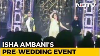 Nita Ambani Dances To Bollywood Number At Isha's Pre-Wedding Event. Watch