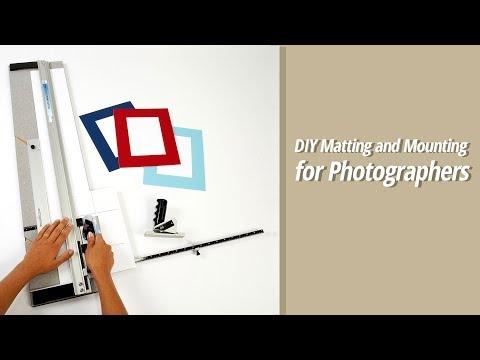 DIY Matting and Mounting for Photographers (видео)