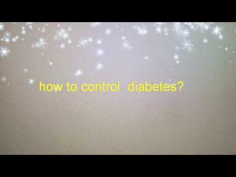 Diabetic diet - How To control diabetes / diet chart for diabetes
