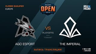AGO vs The Imperial - DH Summer 2018 EU Quals - map1 - de_cobblestone [Godmint, SleepSomeWhile]
