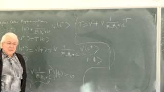 METU - Quantum Mechanics II - Week 8 - Lecture 3