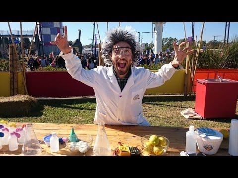 Ciencia y cocina en Tecnópolis
