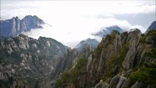 Scenes from the beautiful HuangShan 黄山 mountain
