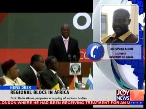 africanews - Regional Blocs in Africa.