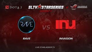 Rave vs Invasion, game 2