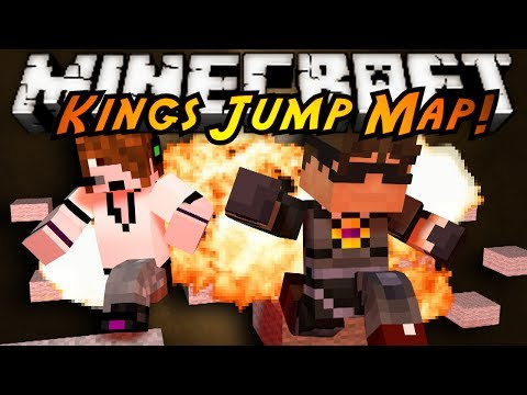Minecraft Parkour : KINGS JUMP MAP!