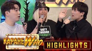Video Vice Ganda tests Ryan and Jin Ho's hosting skills | It's Showtime KapareWho MP3, 3GP, MP4, WEBM, AVI, FLV Juli 2019