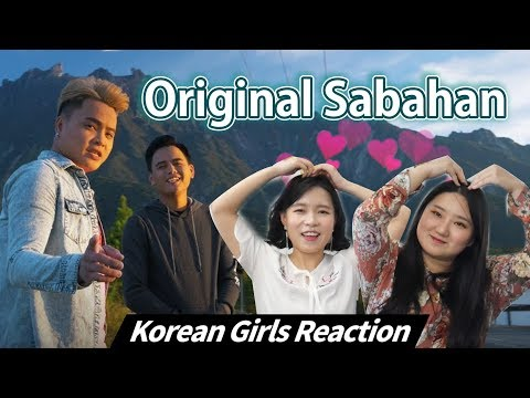 Korean Girls React to 'Original Sabahan' |Atmosfera ft. Floor 88|Blimey