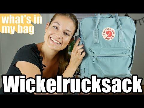 Unsere Wickeltasche / Wickelrucksack / Whats in my bag / Familie M.