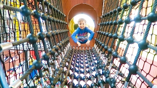 Video VLOG - FUN INDOOR PARCOURS & Aire de jeux intérieure - Indoor Playground for kids MP3, 3GP, MP4, WEBM, AVI, FLV September 2017