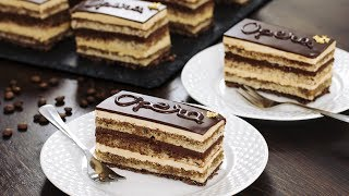 Opera Cake Recipe by Home Cooking Adventure