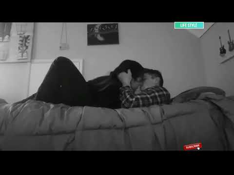 Cute Couple In Love Kissing And Hugging A Lot Relationship Goals 2018