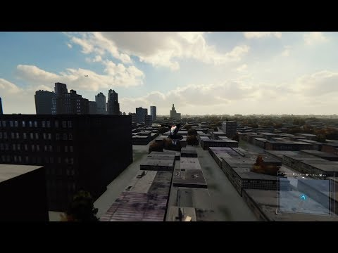 Marvel's Spiderman Glitch : beyond outside the unused map