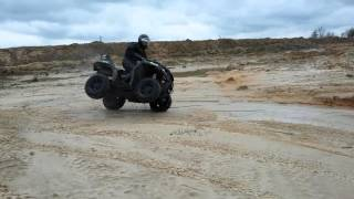 10. Atv Arctic Cat XR 700 2017 test
